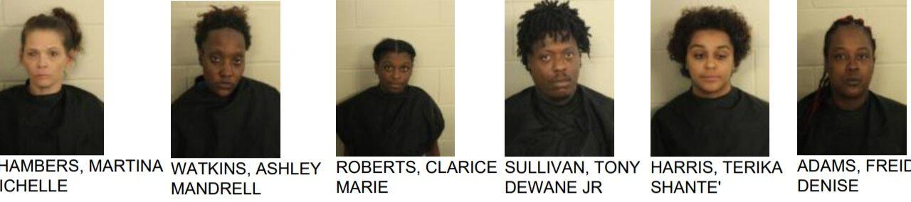 Drug Raid at e Seven Hills Inn on Martha Berry Boulevard Nets 6 Arrest