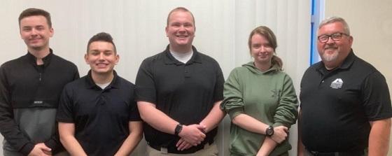 GNTC Basic Law Enforcement students make donation