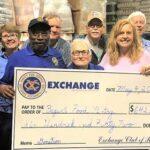 Exchange Club of Rome Donates to Food Pantry