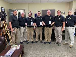 Sheriff Recognizes Jail Staff Officers For Life Saving Events