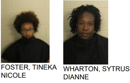 Rome police arrest two women after finding drugs and guns