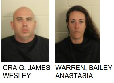 Lindale Couple Jailed for Trafficking Meth