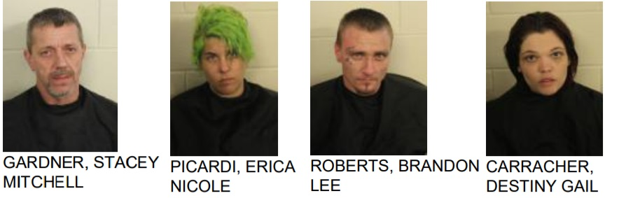 Numerous meth Arrest Made in Flold County