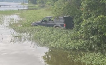 SUV Found in Weiss Lake