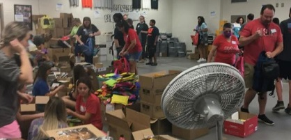 """Georgia Power employees from Cartersville supports """"back to school"""" fundraiser for Bartow County students"""