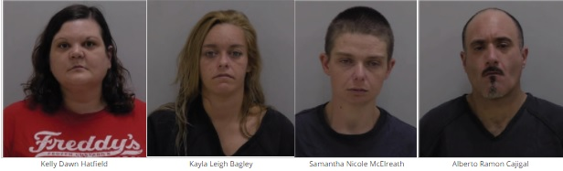 Four Arrested AFter Bartow County Stabbing