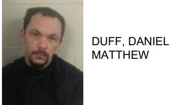 Floyd County Prison Inmate Drops Drugs on Floor in front of Officers