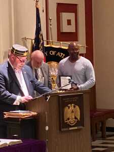 Gordon County Sheriff's Sergeant Honored for Exemplary Service by Atlanta Scottish Rite