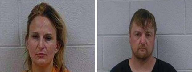 Polk Couple Jailed on Felony Drug Charges